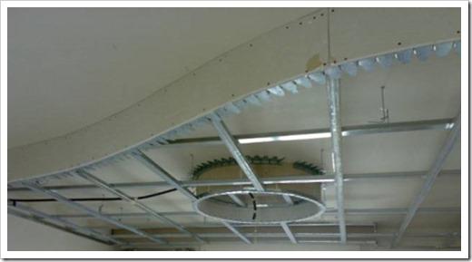 Как делать подвесной потолок?