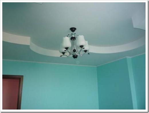 Краска для потолка из гипсокартона