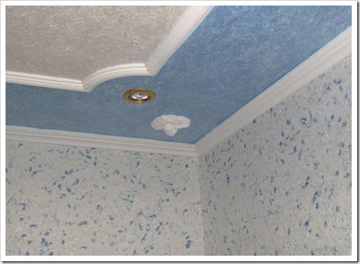 Чем покрыть гипсокартон на потолке?