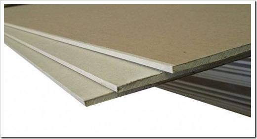 Какой толщины гипсокартон на потолок?