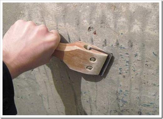 Как очистить потолок от штукатурки?