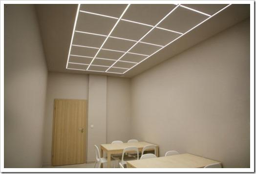 Как выглядит подвесной потолок?