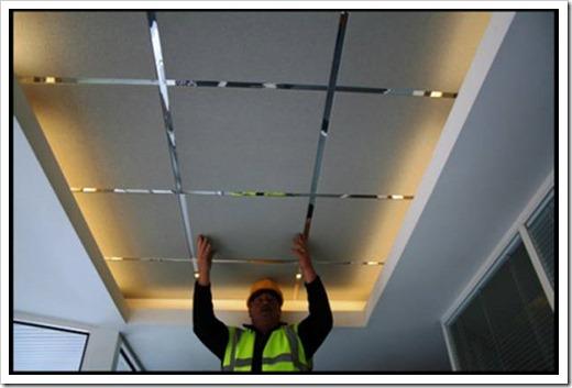 Из чего состоит подвесной потолок?