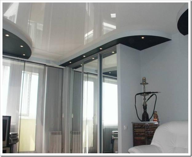 Чем вредны натяжные потолки?