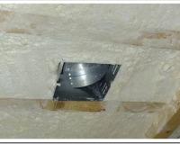 Утепление потолка бани пенопластом