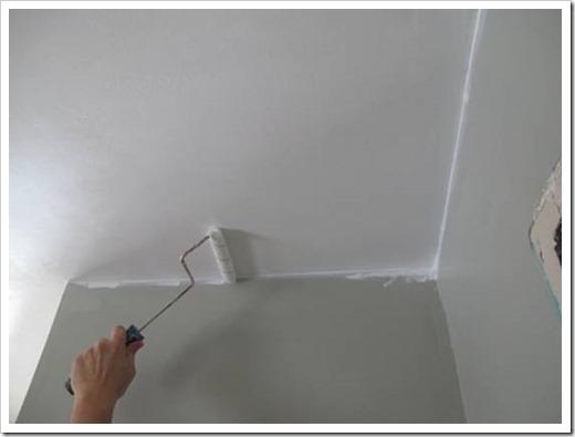 Силиконовая краска для потолка
