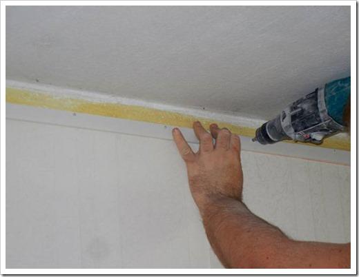 Как крепятся натяжные потолки