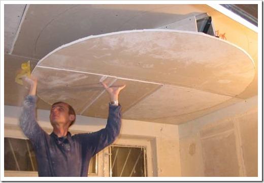 Как делаются подвесные потолки