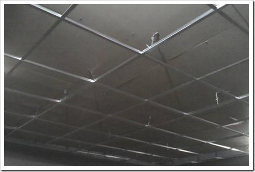 Как крепится подвесной потолок