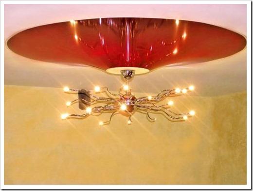 Встраиваемая люстра в натяжной потолок