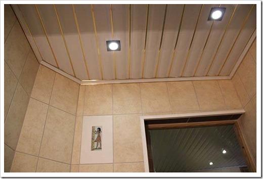 Плинтус для реечного потолка