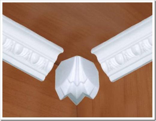 Уголки для плинтусов на потолок