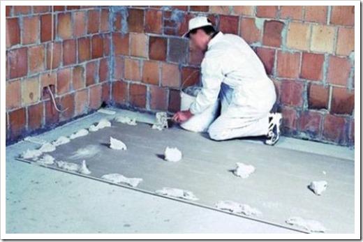 Как наклеить гипсокартон на потолок