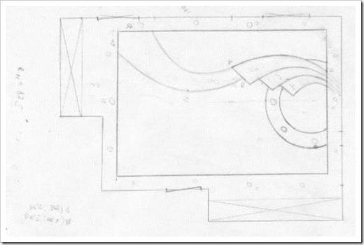 Как нарисовать потолок из гипсокартона