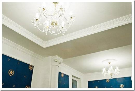 Плинтус для потолка из гипсокартона