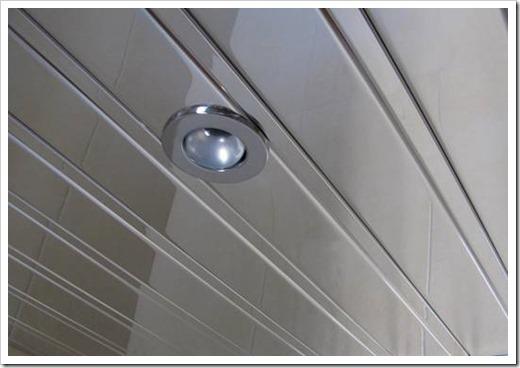 Как установить реечный подвесной потолок