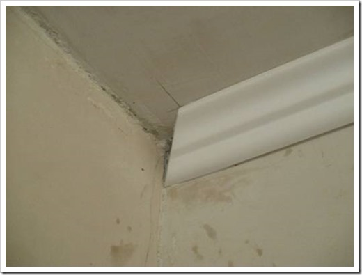 Как сделать уголок на потолке 756