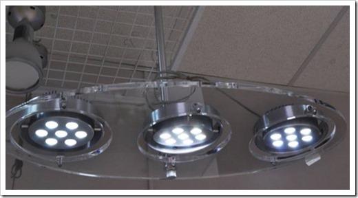 Светодиодные светильники для высоких потолков