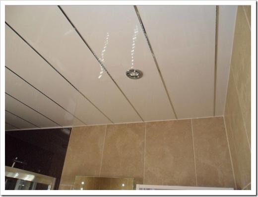 Как очистить подвесной потолок на кухне