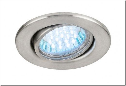 Светодиодные точечные светильники для потолков