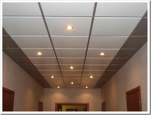 Как собирать подвесной потолок Армстронг?