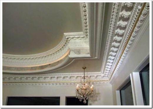 Декоративная лепнина на потолок.