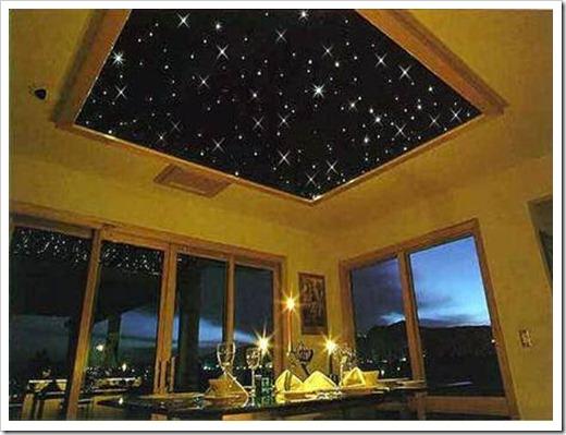 """Обои на потолок """"Звездное небо"""""""
