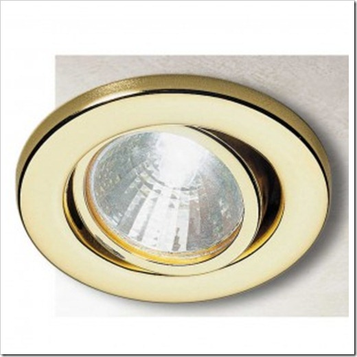 Поворотные точечные светильники для потолков