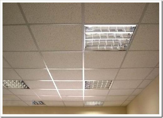 Как рассчитать подвесной потолок Армстронг?