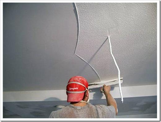 Как штукатурить потолок из гипсокартона?