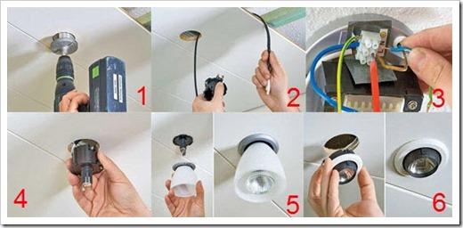 Тонкости замены ламп на подвесном потолке