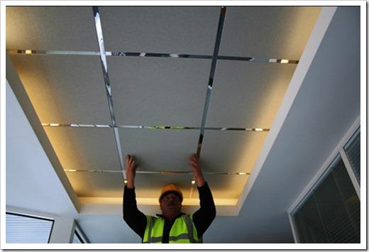 Разметка подвесного потолка Армстронг