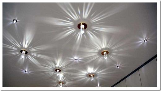 Критерии выбора светильников для натяжного потолка
