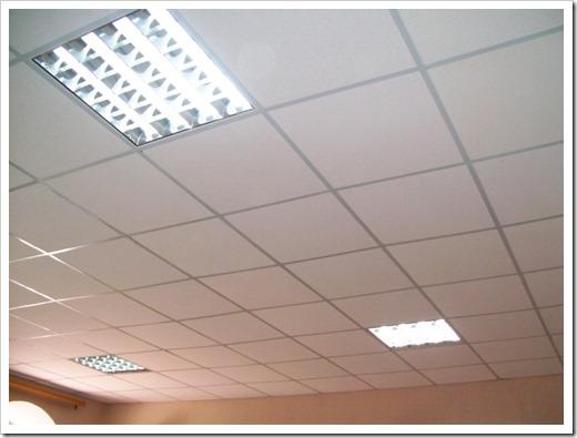 Освещение подвесного потолка Армстронг