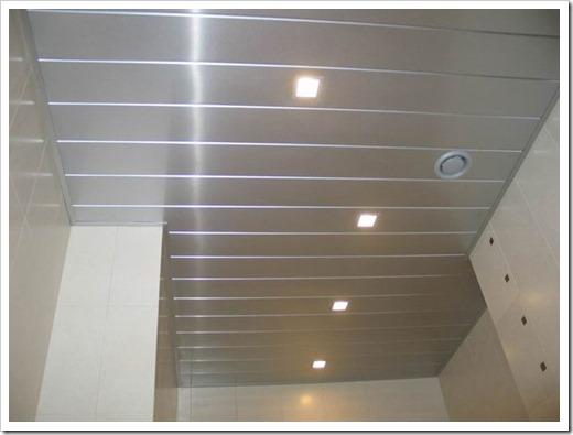 Технология монтажа подвесного потолка из ПВХ панелей