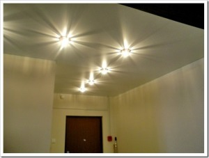 Подвесной потолок как источник света