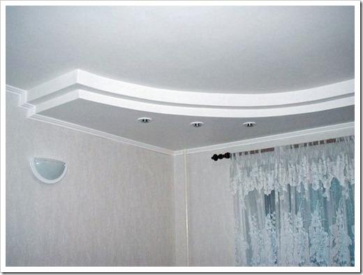 Выбор подвесного потолка из гипсокартона