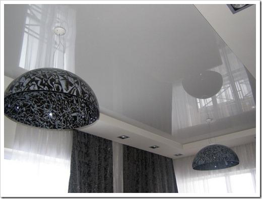 Потолки с глянцевой фактурой