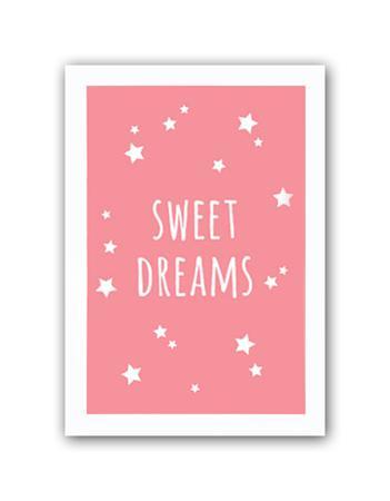 Купить Постер Sweet dreams girls А4