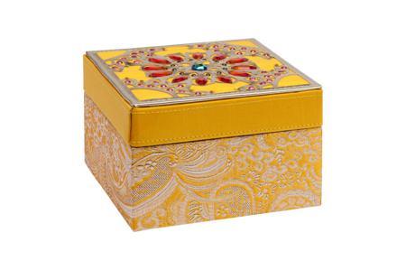 Купить Декоративная шкатулка Blossom Yellow