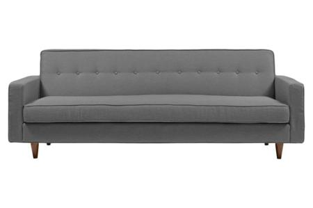 Купить Диван Bantam Sofa Большой Лён Серый
