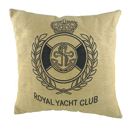 Купить Подушка с гербом Королевского Royal Yacht Club