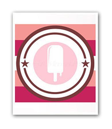 Купить Постер Ice cream А4