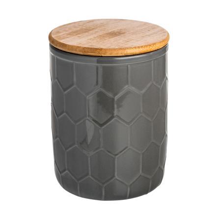 Купить Ёмкость для хранения Honeycomb Чёрная Средняя