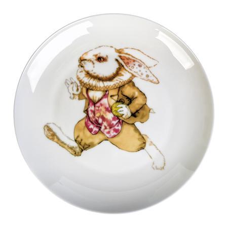 Купить Тарелка Сумасшедший Кролик опаздывает
