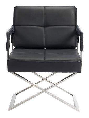 Купить Кресло Aster X Chair Черная Кожа Класса Премиум