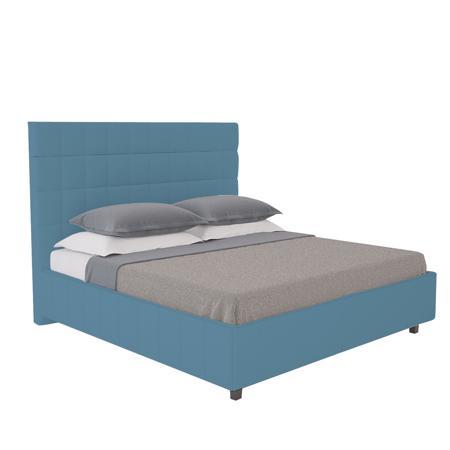 Купить Кровать Shining Modern 140х200 Велюр Морская волна