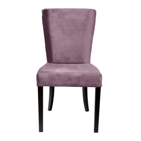 Купить Стул Sophisticated Серо-Фиолетовый Микровелюр