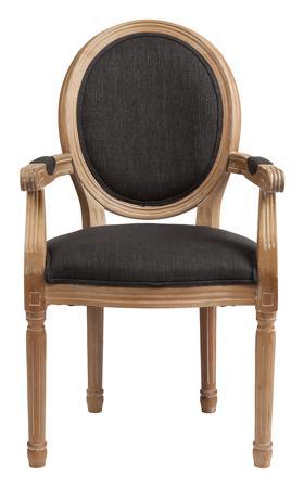 Купить Кресло Pollina Темно-серый Хлопок