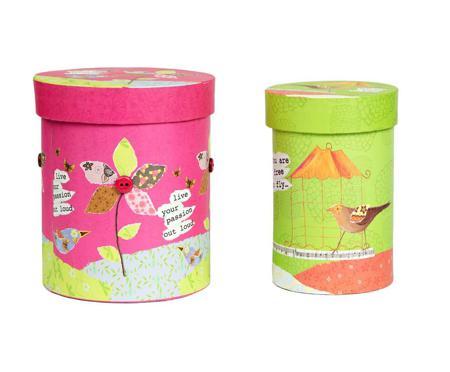 Купить Набор круглых коробок Childhood Piccola